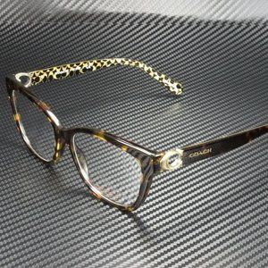 COACH Brown Green 54mm Eyeglasses